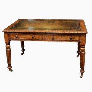 Kleiner viktorianischer Schreibtisch aus Eiche