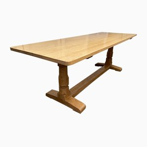 English Oak Refectory Dining Table