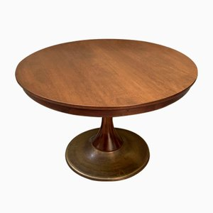 Italian Round Dining Table, 1950s