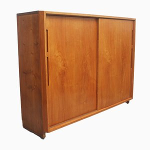 Cherrywood and Resopal Architects Sideboard, 1950s