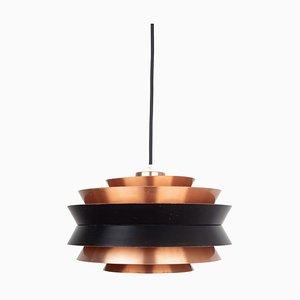 Vintage Swedish Trava Pendant Lamp by Carl Thore / Sigurd Lindkvist for Granhaga Metallindustri, 1960s