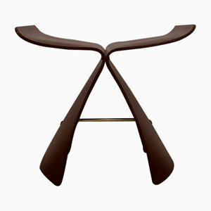 Rosewood Butterfly Stool by Yori Sanagi for Vitra, 2000s