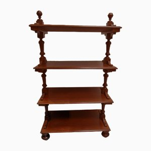Antique Mahogany Book Stand