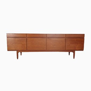Teak Model 66 Sideboard by Ib Kofod-Larsen for Faarup Møbelfabrik, 1960s