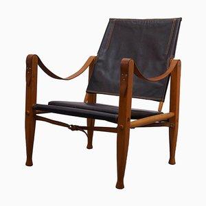 Vintage Safari Armlehnstuhl von Kaare Klint für Rud. Rasmussen