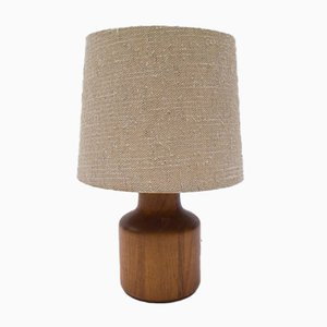 Danish Teak Table Lamp, 1960s