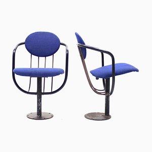 Sedie da teatro pieghevoli di Poul Henningsen per Andreas Christensen, anni '50, set di 2