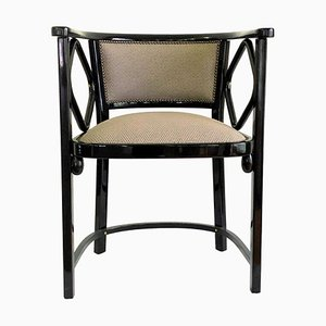 Vintage Austrian Mundus Armchairs Attributed to Josef Hoffmann for Thonet, 1970s, Set of 12