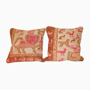 Animal Soumac Cushion Covers, Set of 2