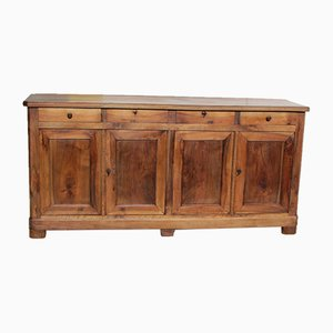 Antique Louis Philippe Walnut Sideboard, 1890s