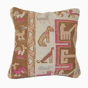 Animal Soumac Cushion Cover