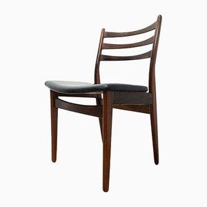 Sedie da pranzo Mid-Century in palissandro, Danimarca, anni '50, set di 6