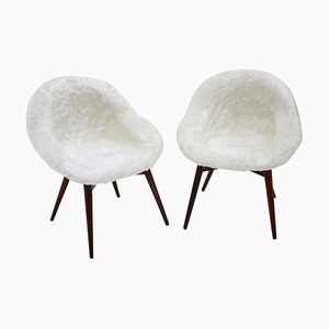 Lounge Chairs by Miroslav Navratil, 1970s, Set of 2