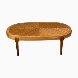 Mid-Century Oval Coffee Table from Stonehill