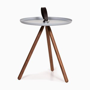 Ice Blue Wood & Steel 973 Coffee Table from Rolf Benz