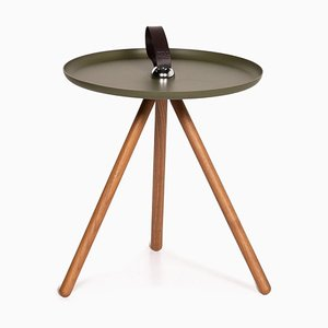 Green Wood & Steel 973 Coffee Table from Rolf Benz