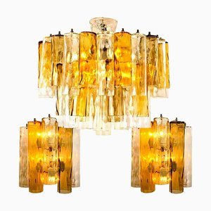Large Light Fixtures from Barovier & Toso, 1969, Set of 3