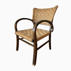 Art Deco Bauhaus Basket Chair, 1960s