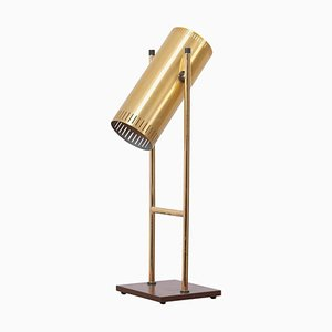 Brass Trombone Table Lamp by Jo Hammerborg for Fog & Mørup, Denmark, 1960s