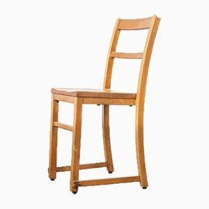 Englische Stapelbare Esszimmerstühle aus Ulmenholz, 1920er, 6er Set