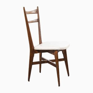 Mid-Century French Dining Chairs, 1950s, Set of 8