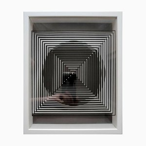 Sérigraphie Kinetics 1 par Victor Vasarely, 1973