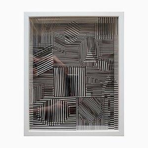 Sérigraphie Kinetics 5 par Victor Vasarely, 1973