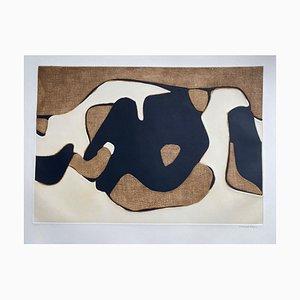Litografia Composition di Conrad Marca-Relli, 1977