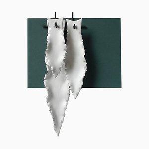 3 Agave Blatt Wandlampe von Sander Bottinga