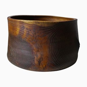 Limed Oak Bowl by Fritz Baumann