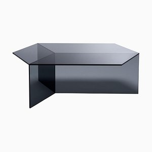 Clear Glass Isom Oblong Coffee Table by Sebastian Scherer