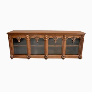 19th Century Renaissance Style Walnut Sideboard