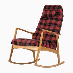 Bentwood Rocking Chair from ULUV Praha, 1960s