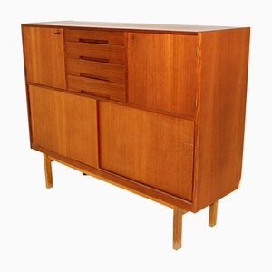 Swedish Teak Secretaire, 1960s