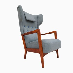 Danish Armchair by Fritz Hansen for Fritz Hansen, 1950s