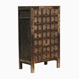Antique Chinese Shanxi Tall Medicine Chest