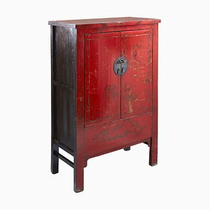Antique Chinese Shanxi Wedding Cabinet