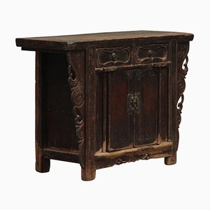 Antique Chinese Carved Shanxi Cabinet