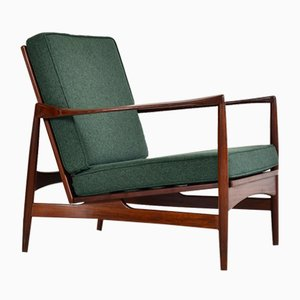 Danish Afromosia Lounge Chair by Ib Kofod Larsen for G Plan, 1960s
