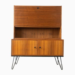 Walnut Veneer Secretaire, 1960s