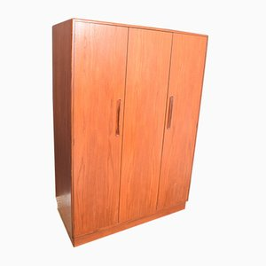 Teak Fresco Triple Wardrobe by Viktor Wilkins for G-Plan, 1960s