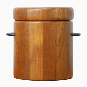 Mid-Century Teak Ice Bucket from Digsmed Design, 1960s