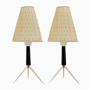 Austrian Table Lamp by Rupert Nikoll, 1950s