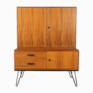 Walnut Veneer Chest of Drawers, 1960s
