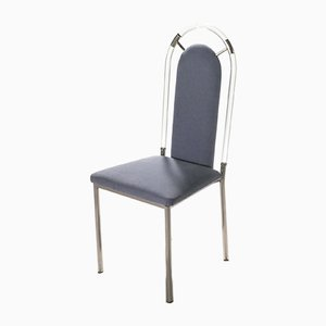Plexiglass Dining Chairs from Maison Jansen, 1970s, Set of 6