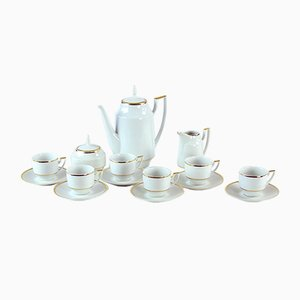 Mid-Century Czechoslovakian Porcelain Tea or Coffee Set, 1960s