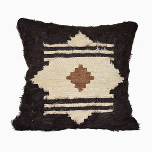 Turkish Siirt Blanket Cushion Cover