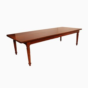 Large 19th Century Solid Mahogany Manor Table