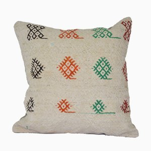 Turkish Hemp Kilim Cushion Cover