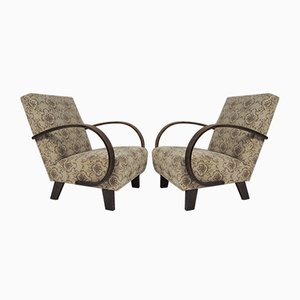 Lounge Chairs from Thonet, 1950s, Set of 2